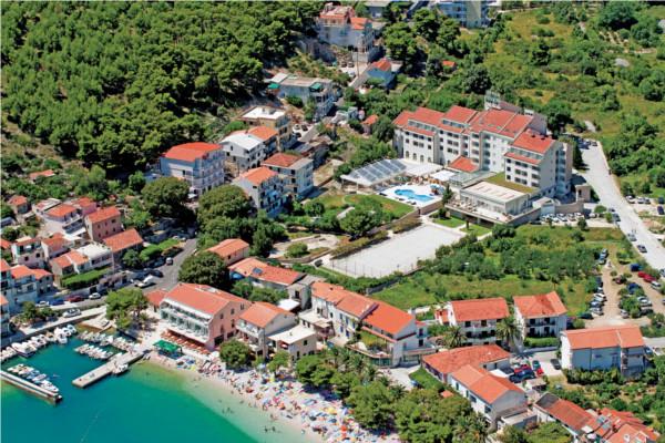 Vue panoramique - Hôtel Top Clubs Quercus 4* Dubrovnik Croatie