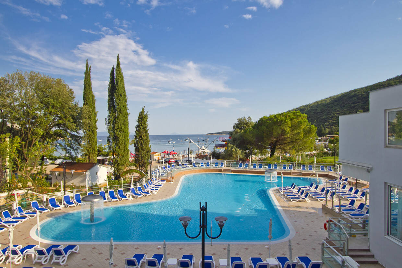 Piscine - Hôtel Mimosa - Lido Palace 4* Pula Croatie