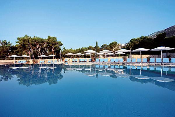 Piscine - Hôtel Grand Hôtel Bluesun Elaphusa 4* Split Croatie