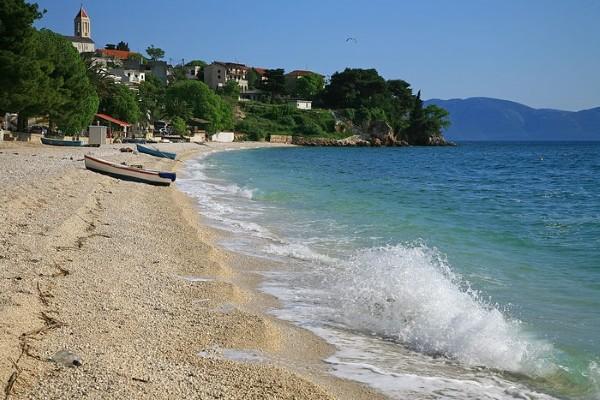 Plage - Hôtel Bravo Club Adriatica 3* Split Croatie