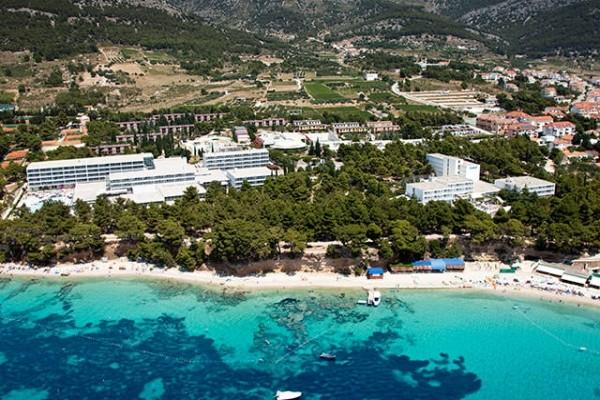 Vue panoramique - Hôtel Grand Hôtel Bluesun Elaphusa 4* Split Croatie