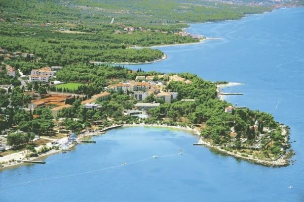 Vue panoramique - Club Jet Tours Kaktus Resort 4* Split Croatie
