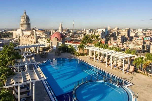 Piscine - Hôtel Iberostar Parque Central 5* La Havane Cuba