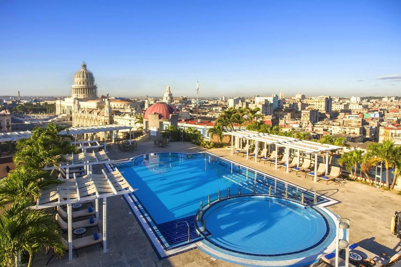 Vue panoramique - Iberostar Parque Central 5* La Havane Cuba