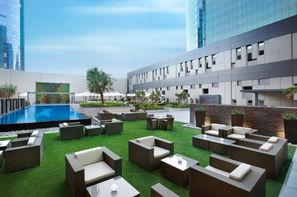 Dubai et les Emirats-Dubai, Hôtel Damac Maison Cour Jardin