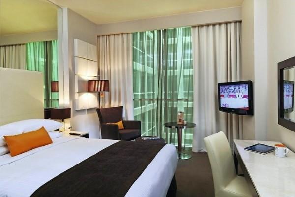 Chambre - Hôtel Centro Barsha Rotana 3* Dubai Dubai et les Emirats