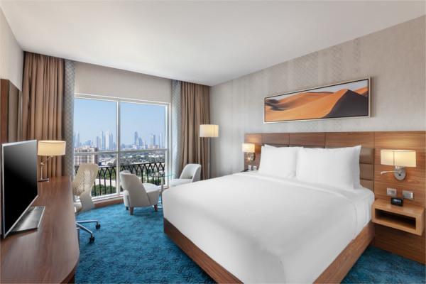 Chambre - Hilton Garden Inn Dubaï Al Jadaf Culture Village 4* Villes Inconnues Pays Inconnus