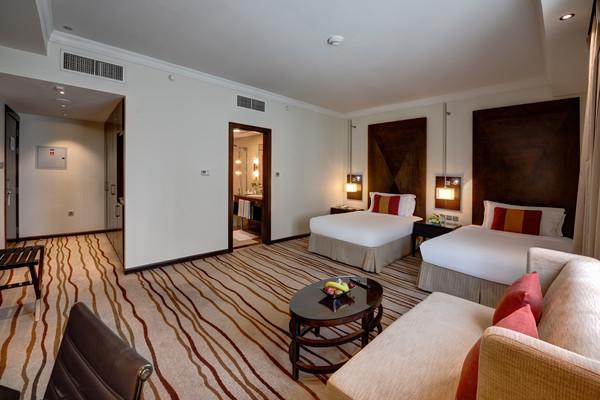 Chambre - Hôtel Media Rotana 5* Dubai Dubai et les Emirats