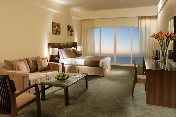Chambre - Hôtel Ramada by Wyndham Beach Ajman 4* Dubai Dubai et les Emirats
