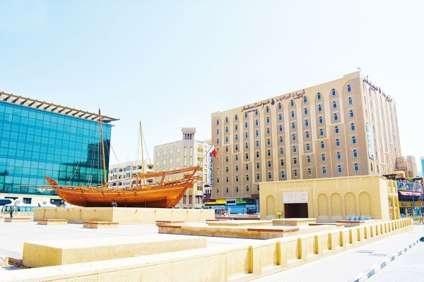 Facade - Hôtel Arabian Courtyard Hotel 4* Dubai Dubai et les Emirats