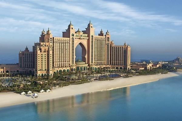 Facade - Hôtel Atlantis The Palm 5* Dubai Dubai et les Emirats