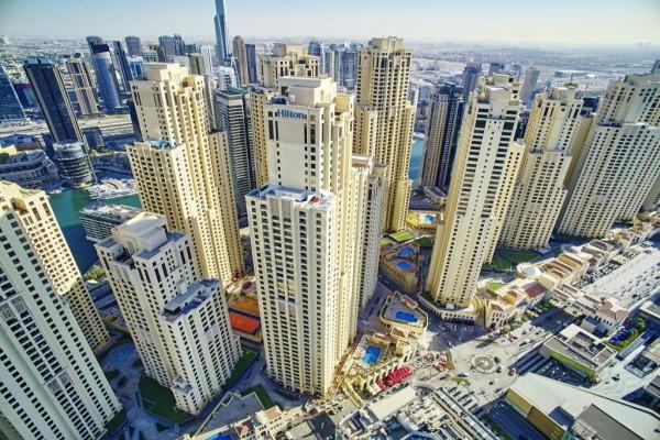 Façade - Hilton Dubaï The Walk