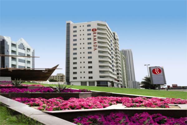 Facade - Hôtel Ramada by Wyndham Beach Ajman 4* Dubai Dubai et les Emirats