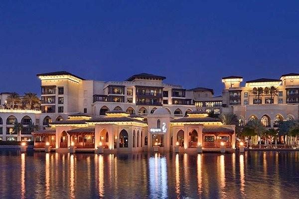 Facade - Hôtel The Palace Downtown 5* Dubai Dubai et les Emirats