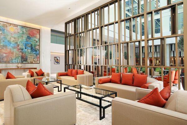 Hall - Hôtel Grand Cosmopolitan 5* Dubai Dubai et les Emirats