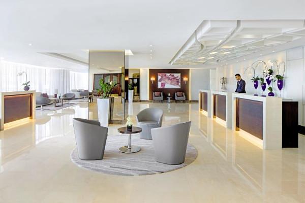 Hall - Hôtel Jumeira Rotana 4* Dubai Dubai et les Emirats