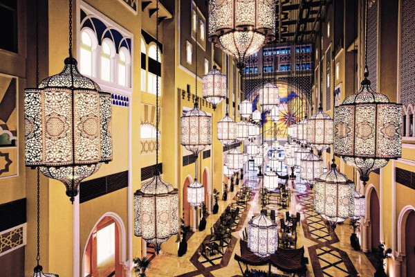 Hall - Hôtel Oaks Dubai Ibn Battuta Gate 5* Dubai Dubai et les Emirats