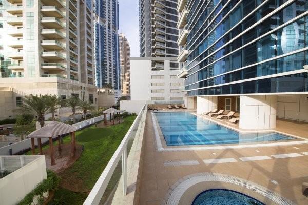 Piscine - Résidence hôtelière Barceló Residences Dubai Marina 4* Dubai Dubai et les Emirats