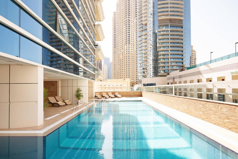 Piscine - Barcelo Residences Dubai Marina 5* Villes Inconnues Pays Inconnus