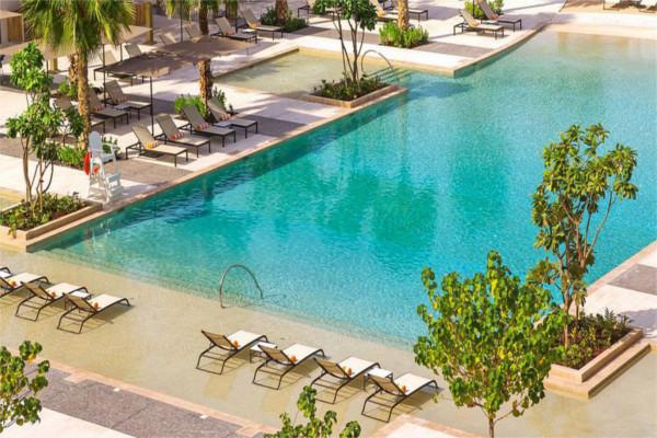Piscine - Hôtel Caesars Resort Bluewaters 5* Dubai Dubai et les Emirats
