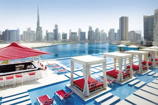 Piscine - Hôtel Canal Central Business Bay 5* Dubai Dubai et les Emirats