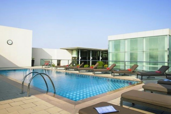 Piscine - Hôtel Centro Barsha Rotana 3*