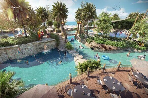 Piscine - Club Coralia Centara Mirage Beach Resort Dubaï 4* Dubai Dubai et les Emirats