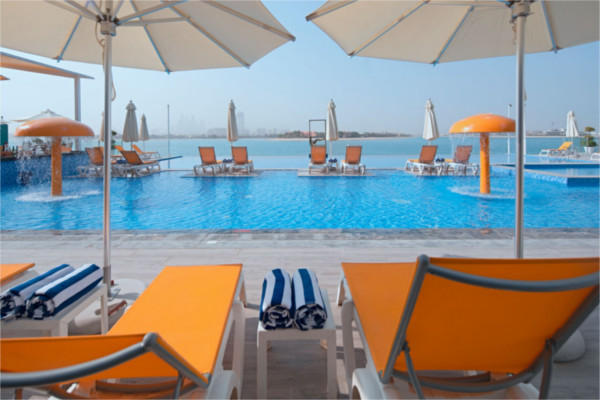 Piscine - Club FTI Voyages C Central Resort The Palm 5* Dubai Dubai et les Emirats