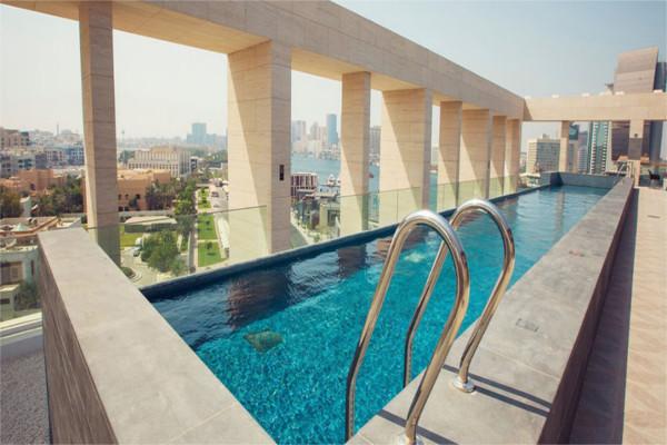 Piscine - Kappa City Canopy by Hilton Dubai Al Seef