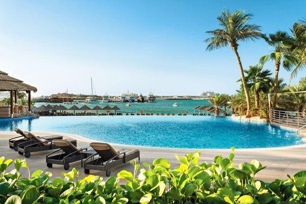 Piscine - Hôtel Le Meridien Mina Seyahi Beach Resort 5* Dubai Dubai et les Emirats