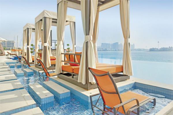 Piscine - Hôtel Royal Central Palm Jumeirah 5* Dubai Dubai et les Emirats