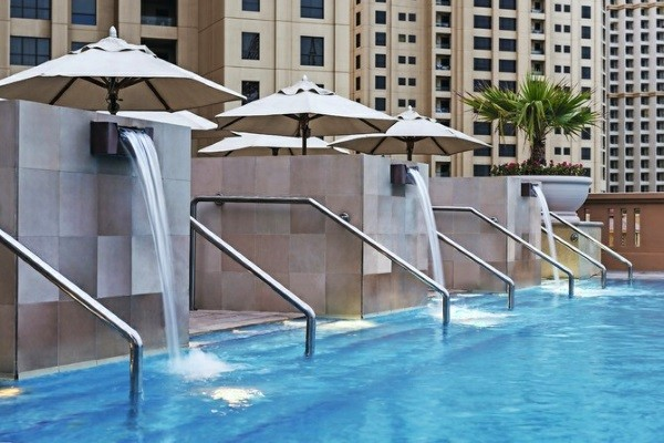 Piscine - Hôtel Sofitel Jumeirah Beach 5* Dubai Dubai et les Emirats