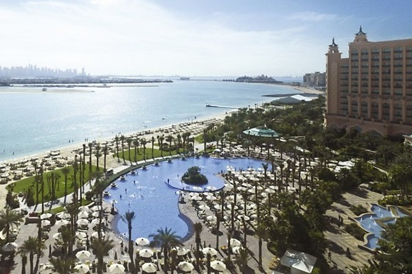 Plage - Hôtel Atlantis The Palm 5* Dubai Dubai et les Emirats