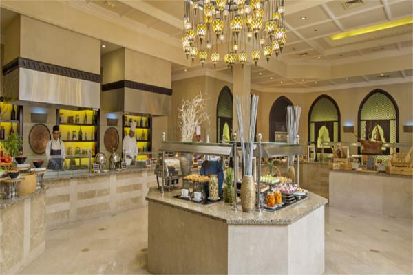 Restaurant - Hôtel Miramar Al Aqah Beach Resort 5* Dubai Dubai et les Emirats