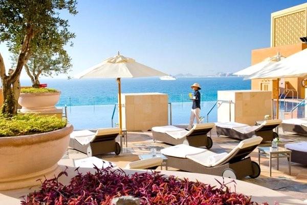 Terrasse - Hôtel Sofitel Jumeirah Beach 5* Dubai Dubai et les Emirats