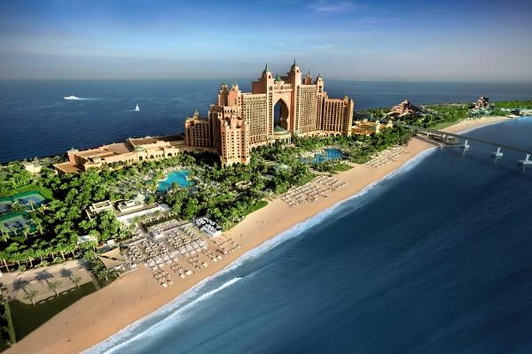 Vue panoramique - Hôtel Atlantis The Palm 5* Dubai Dubai et les Emirats