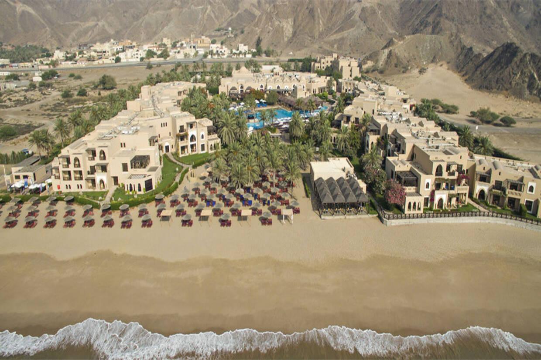 Vue panoramique - Hôtel Fujairah Miramar Beach Resort 5* Dubai Dubai et les Emirats