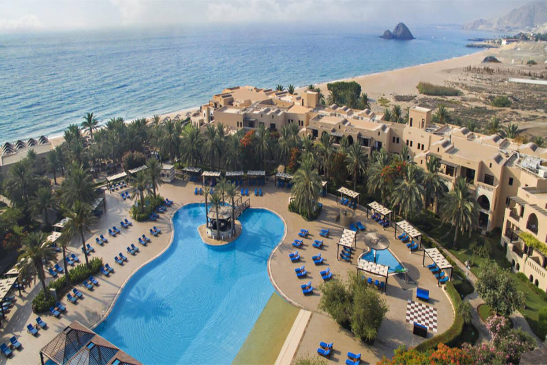 Vue panoramique - Club Kappa Club Fujairah Miramar 5* Dubai Dubai et les Emirats