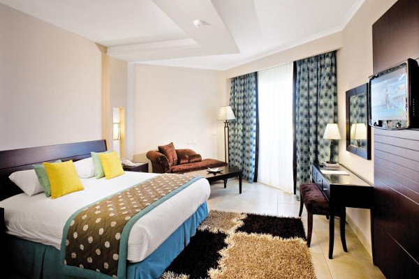 Chambre - Hôtel Amwaj Blue Beach Resort & Spa 4* Hurghada Egypte
