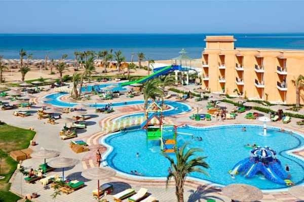 Facade - Hôtel Three Corners Sunny Beach 4* Hurghada Egypte