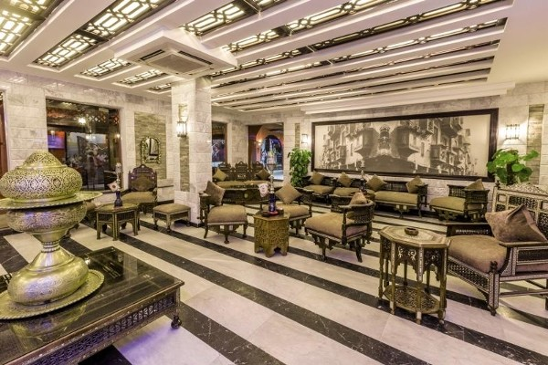 Hall - Hôtel Alf Leila Wa Leila 4* Hurghada Egypte