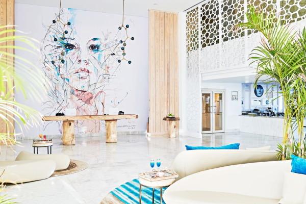 Hall - Hôtel Steigenberger Pure Life 5* Hurghada Egypte