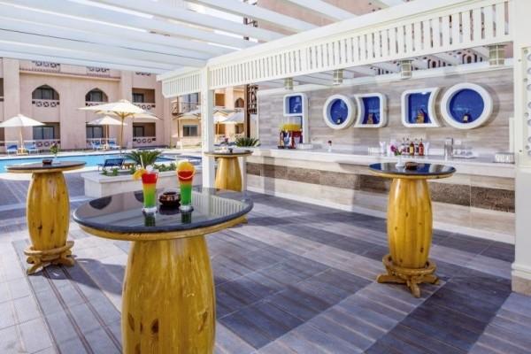 Patio - Hôtel Albatros Aqua Park 4* Hurghada Egypte