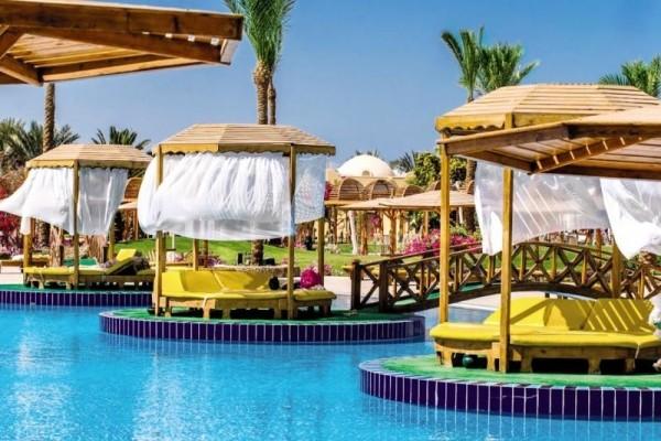 Patio - Hôtel Desert Rose Resort 5* Hurghada Egypte