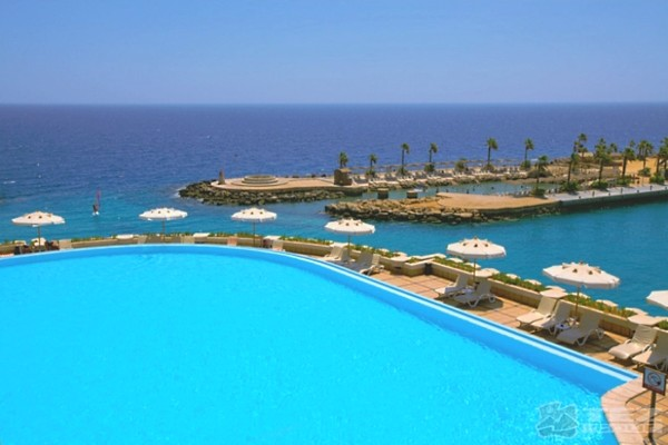 Piscine - Hôtel Albatros Citadel 5* Hurghada Egypte