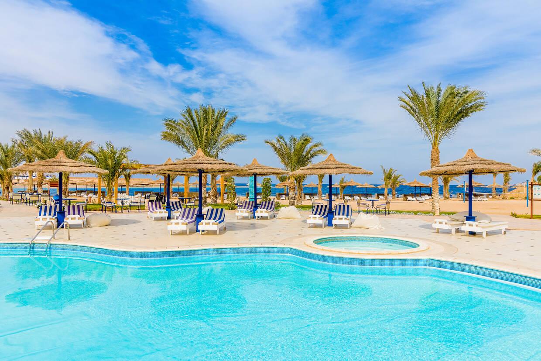 Piscine - Coral Sun Beach 4* Hurghada Egypte