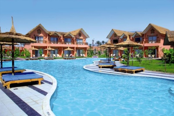 Piscine - Hôtel Jungle Aqua Park 4* Hurghada Egypte