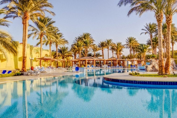 Piscine - Hôtel Palm Beach Resort 4* Hurghada Egypte