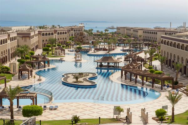 Piscine - Hôtel Sentido Mamlouk Palace 5* Hurghada Egypte