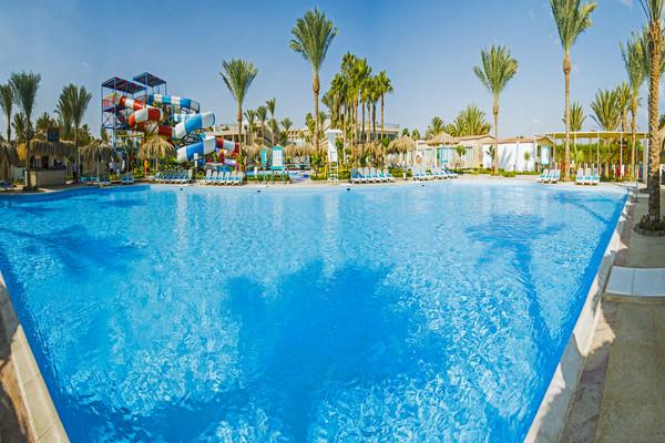 Piscine - Hôtel Sunrise Aqua Joy Resort 4* Hurghada Egypte